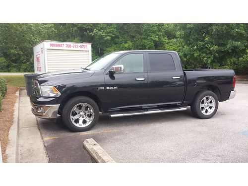 2009 DODGE RAM 1500 Hemi 57 engine Laramie black with black leather 152k miles 1 owner 14900o