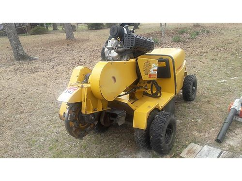 2007 STUMPGRINDER RG-1635 SUPER raco stumgrinder 2sp model 35hp Vanguard xc new axle and drive