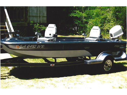 BOAT 165FT Williamscraft with tralor 75hp Johnson new trolling motor xc like new asking 8000