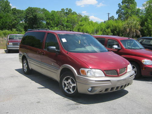 2004 PONTIAC MONTANA 4dr Auto Leather Burgundy CALL 888-667-8504