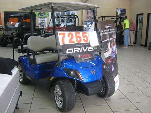 2017 ALL NEW YAMAHA DRIVE 2 Gas Car w Electric Fuel Injection 7255 Augusta ATV 706-869-5515