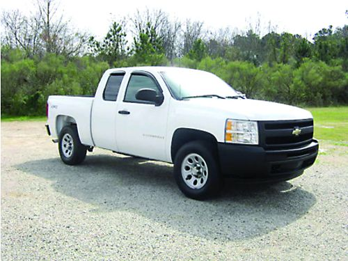 2009 CHEVROLET SILVERADO 1500 4x4 Ext Short Bed 53L V8 Fleet Preowned Very Well Maintained On