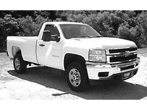 2012 CHEVROLET SILVERADO 2500HD 66L Diesel Duramax Allison Trans Only 51k Miles This Truck is L