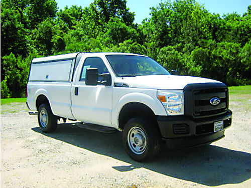 2011 FORD F250 XL 4x4 Reg Cab Long Bed 62L V8 Nice Arc Worktop with Extendo Bedslide Tow Pkg