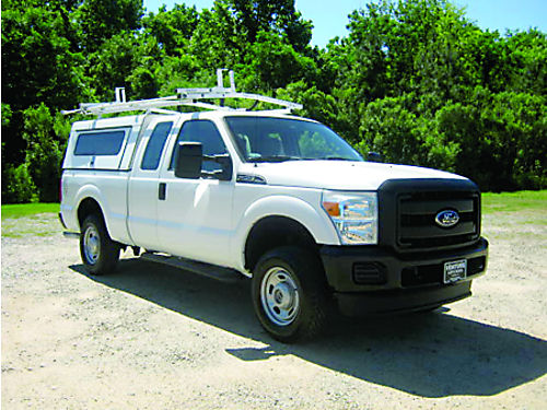 2011 FORD F250 XL 4dr Ext 4x4 Short Bed Workmaster Top wLadder Rack Bedslide  Pack Rat Box B