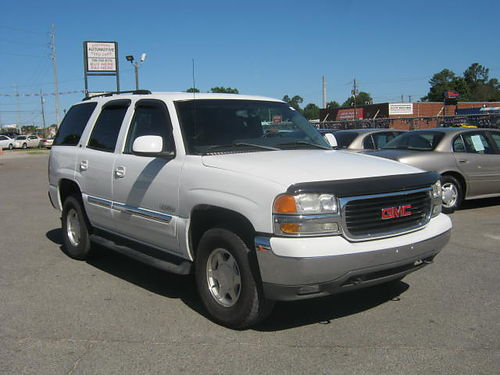 2003 GMC YUKON SLT 4Dr Auto 3rd Row Leather 10995 Call 888-640-5901