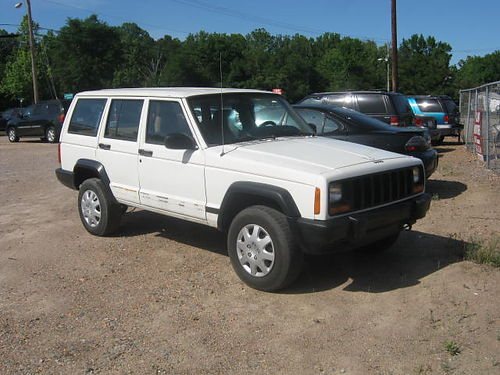 1997 JEEP CHEROKEE 4Dr White 1495 855-830-1721