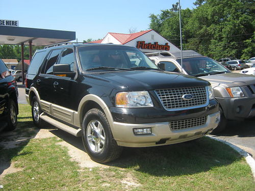 2006 FORD EXPEDITION 4Dr Auto Black 3rd Row 7500 706-771-9510