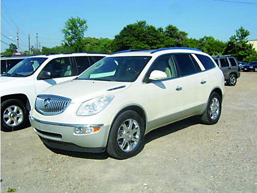 2008 BUICK ENCLAVE 4Dr Auto Pearl White 4995 855-830-1721