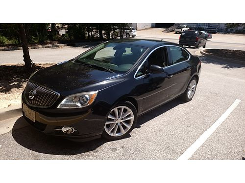 2013 BUICK VERANO 4dr convenience 4cyl 63k miles automatic black gray int super condition 11