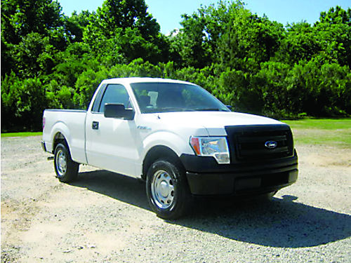 2013 FORD F150 XL Reg Cab Short Bed 37L V6 30k Original Miles Auto AC 1 Owner Fleet Truck V