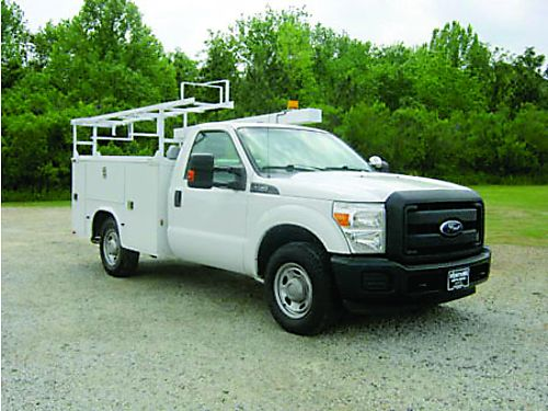 2012 FORD F350 XL 2dr Knapeide Service Truck Top Boxes Bed Box Ladder Rack Pipe Rack Tow Pkg