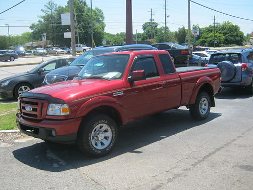 2006 FORD RANGER SUPER CAB 2dr Auto Red 7500 706-771-9510
