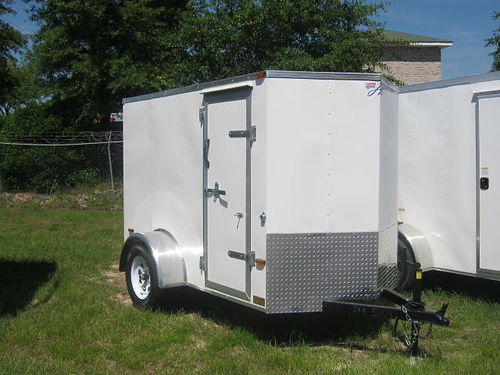 ENCLOSED 5X8 - 6X12 HORTON TRAILERS Many Extras  Loaded 888-231-1885