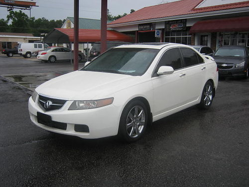 2005 ACURA TSX 4Dr Atuo White 8200 706-771-9510