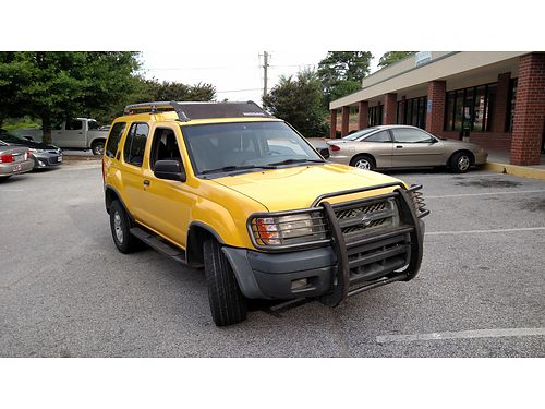 2000 NISSAN XTERRA 5speed 4x4 140k miles on engine cold air amfm cd player xc 3900obo for pho
