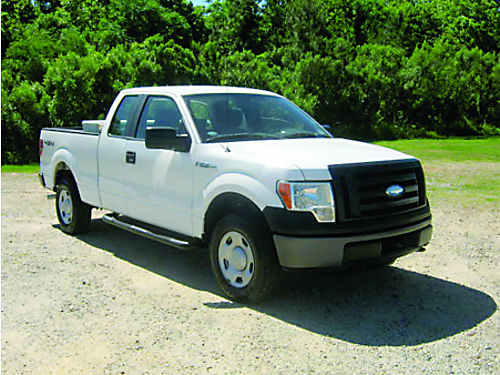 2009 FORD F-150 XL 4X4 Ext cab Short Bed 54L V8 Tool Box Running Boards Ready To Work Only 1