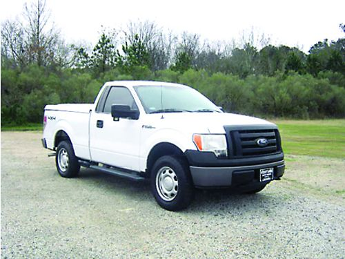 2010 FORD F-150 XL 4X4 Reg Cab Short Bed V8 70k Miles ARE Tonneau Cover Running Boards Very We
