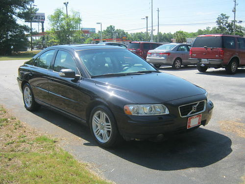 2007 VOLVO S60 4Dr Auto Black Loaded 4995 888-667-8504