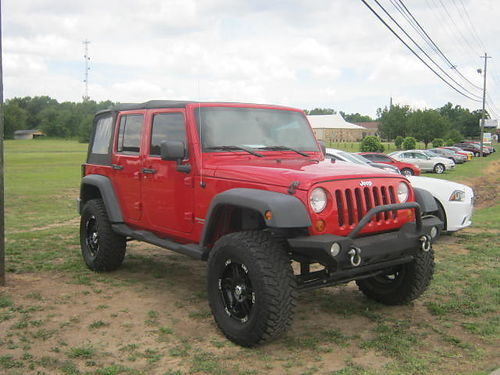 2007 JEEP WRANGLER UNLIMITED 4Dr Auto Red 17900 762-333-8734