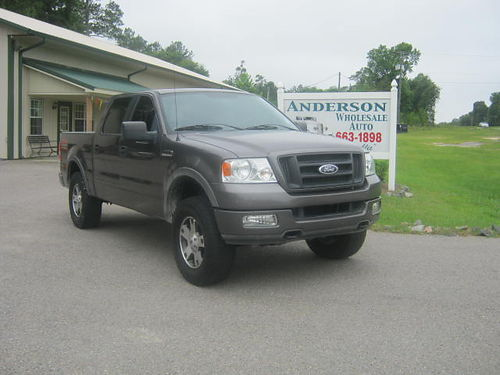 2005 FORD F-150 FX4 Lariat 103k Miles Sunroof Good Nitto Tires 15500 803-663-1898