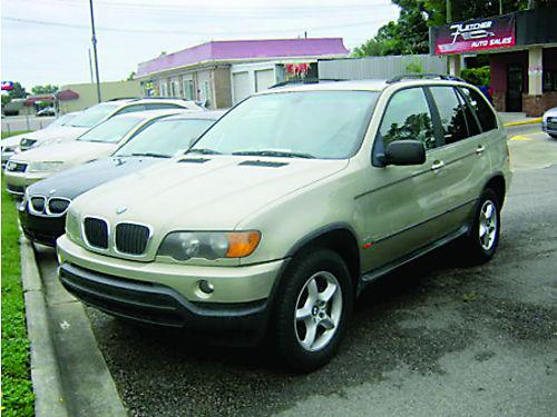 2003 BMW X5 4dr Auto Gold Leather 3000 706-771-9510