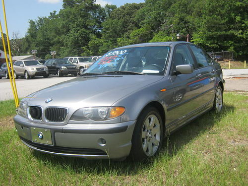 2004 BMW 325 4Dr Auto Blue 3500 706-771-9510