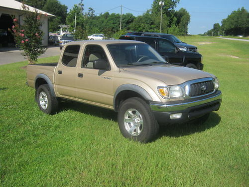 2001 TOYOTA TACOMA 4dr Limited New Tires PreRunner 162k Miles 7050 803-663-1898