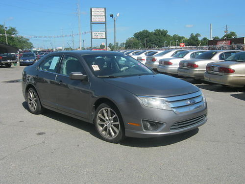 2010 FORD FUSION 4Dr Auto Gray 8995 Call 888-640-5901