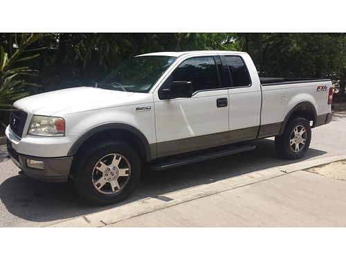 2004 FORD F150 4x4 black int 154k miles running boards low profile toolbox sunroof tinted windo
