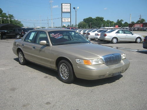 1999 MERCURY GRAND MARQUIS 4Dr Auto Gold 4995 Call 888-640-5901