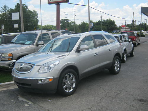 2008 BUICK ENCLAVE 4Dr Auto Silver 3rd Row 9200 706-771-9510