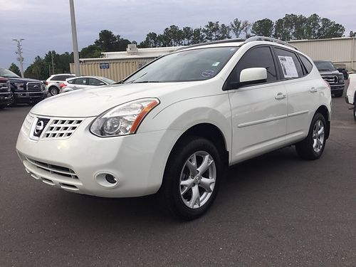 2008 NISSAN ROGUE 4dr Auto Leather White 7500 800-805-7984