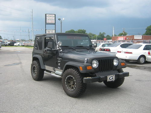 2000 JEEP WRANGLER SPORT 40L 9995 Cash Only Call 888-640-5901