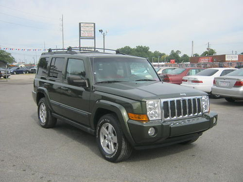 2007 JEEP COMMANDER 4Dr Auto Leather Sunroof 3rd Row 10995 Call 888-640-5901