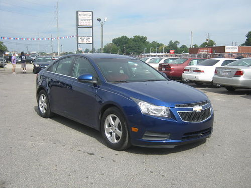2012 CHEVY CRUZE 4Dr Auto Blue 9995 Call 888-640-5901