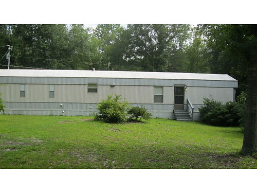 HEPHZIBAH mobile home on an acre of land 2br 2ba on pond outside storage off windsor spring 55