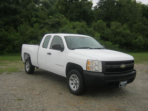 2007 CHEVY 1500 NEW SILVERADO 4Dr Ext Short Bed 53 V8 102k Miles All Power CD Back Rack Ext