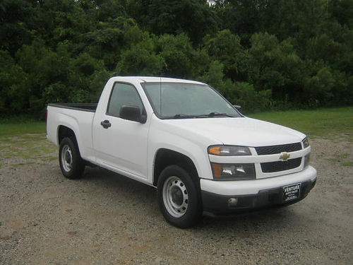2012 CHEVY COLORADO Reg Cab 4Cyl 71k Miles Auto AC All Power OnStar Bedliner Great on Gas O
