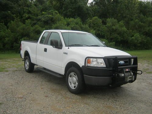 2008 FORD F-150 XL 4X4 4Dr Extended Cab Short Bed V8 139k Miles Warn Winch Brush Guard Ready