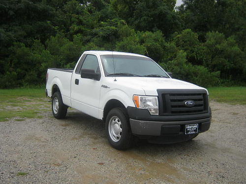2012 FORD F-150 XL 2Dr Reg Cab Short Bed 37 V6 Auto AC Backup Camera Pack Rat Bed Box One