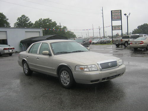2007 MERCURY GRAND MARQUIS 4Dr Auto Gold 8995 Call 888-640-5901