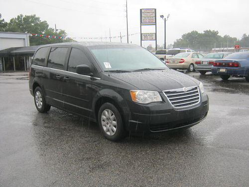2010 CHRYSLER TOWN  COUNTRY 2 Sliding Doors 3rd Row Black 9995 Call 888-640-5901