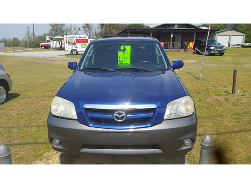 2005 MAZADA TRIBUTE Runs Great Sunroof 4500 Top Quality Auto Sales 706 437-1411