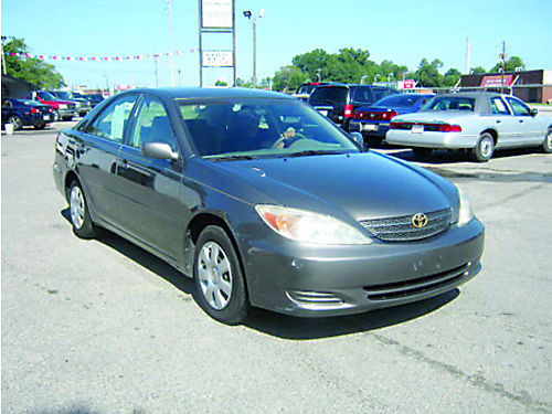 2003 TOYOTA CAMRY 4dr Auto Gray 8995 Call 888-640-5901