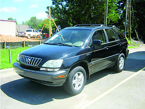 2002 LEXUS RX 300 4dr Auto Black Leather 8100 800-805-7984