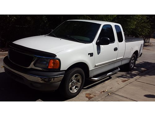 2004 FORD F150 Limited 4x2 model extra clean tonneau cover step rail 172k miles vgc in and out