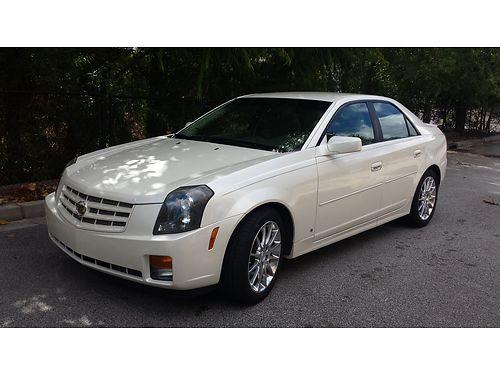 2007 CADILLAC CTS under 49k miles new tires xc white 9200 for more photos search 2976969  Iwan