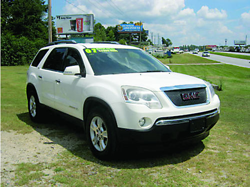 2007 GMC ACADIA SLT 126K Miles Loaded DVD Leather 12200 Call 803-663-4319