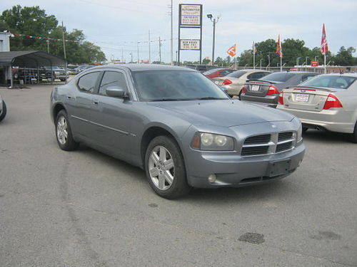 2007 DODGE CHARGER 4Dr Auto Grey Leather Call 888-640-5901